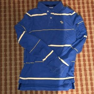 Men's small long sleeve polo